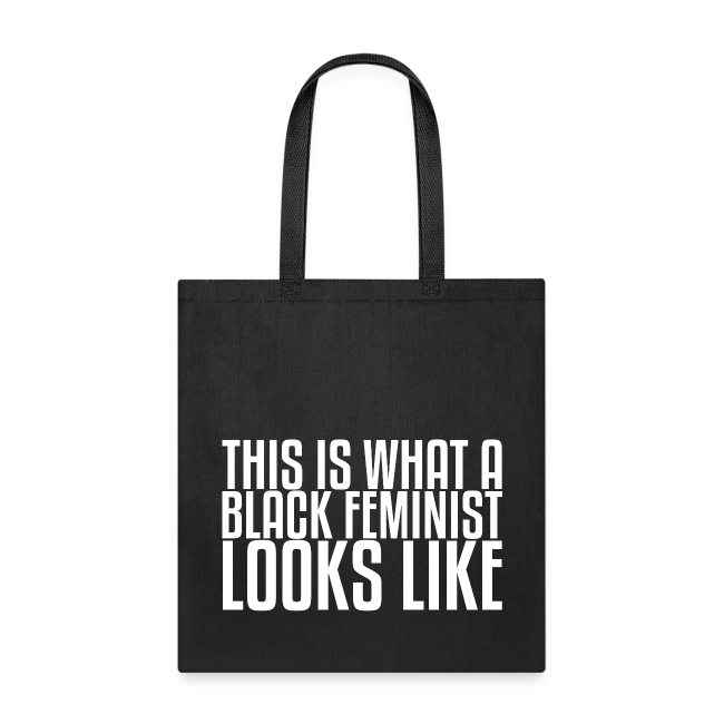 Black Feminist Tote Bag