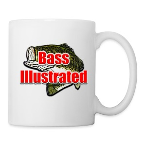 Bass Illustrated Mug Large Logo Design - Coffee/Tea Mug