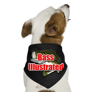 Bass Illustrated's Dog Bandana - Dog Bandana