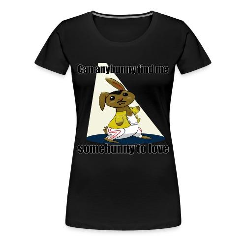 somebunny to Love - Women's Premium T-Shirt