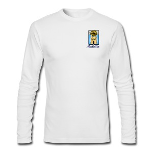 Medellin shield - Men's Long Sleeve T-Shirt by Next Level