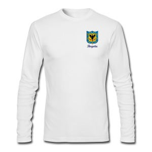 Bogota Shield - Men's Long Sleeve T-Shirt by Next Level
