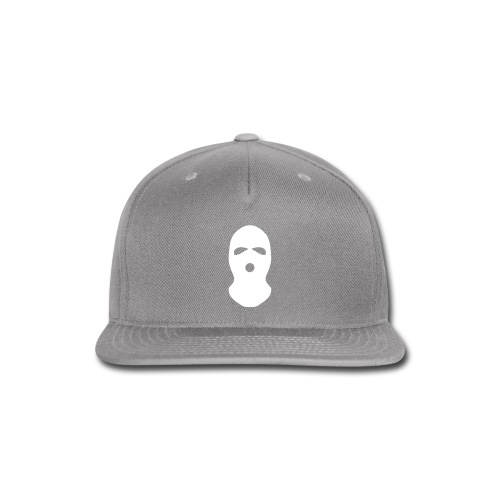 Ski Mask Hat - Snap-back Baseball Cap