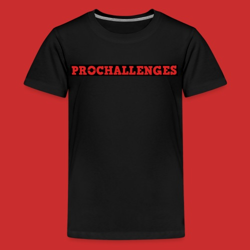 Kids Prochallenges Premium T-Shirt (Black) - Kids' Premium T-Shirt