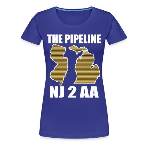 The Pipeline-women - Women's Premium T-Shirt