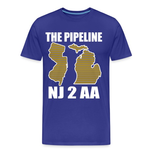 The Pipeline-men - Men's Premium T-Shirt