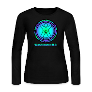 Long Sleeve Shirts ~ Women's Long Sleeve Jersey T-Shirt ~ WWWGA 2016 Official