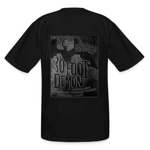 30 Foot Demon in Long Beach - Men's Tall T-Shirt