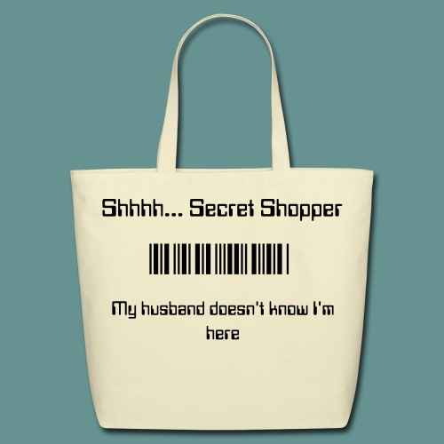 Secret Shopper Tote - Eco-Friendly Cotton Tote