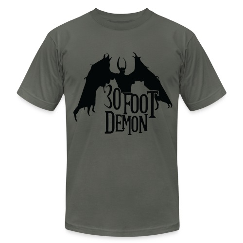 30 Foot Demon Wings of a Demon - Men's Fine Jersey T-Shirt
