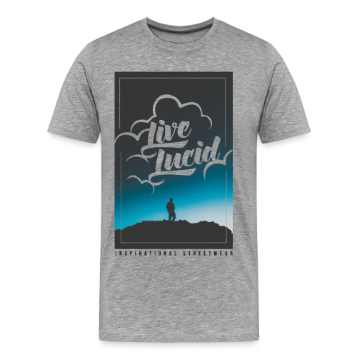 Skys The Limit  - Men's Premium T-Shirt