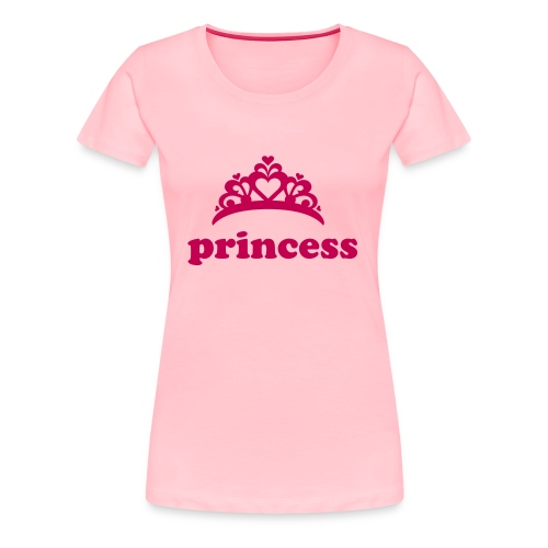 princess t shirt - Women's Premium T-Shirt