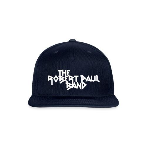 The Robert Paul Band Snap-back Baseball Cap - Snap-back Baseball Cap