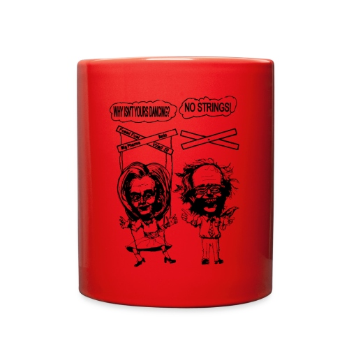 Red Coffee Mug Democratic Primary Satire - Full Color Mug