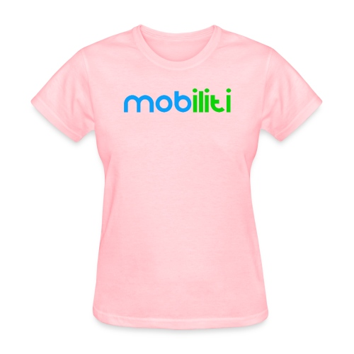 Mobiliti Logo Women Crew-neck  - Women's T-Shirt