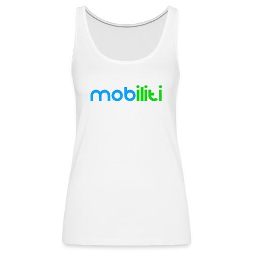 Mobiliti Logo Women Tank - Women's Premium Tank Top