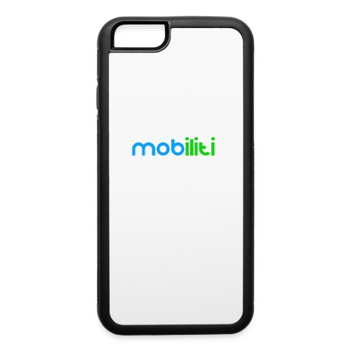 Mobiliti Logo iPhone 6 Rubber Case - iPhone 6/6s Rubber Case