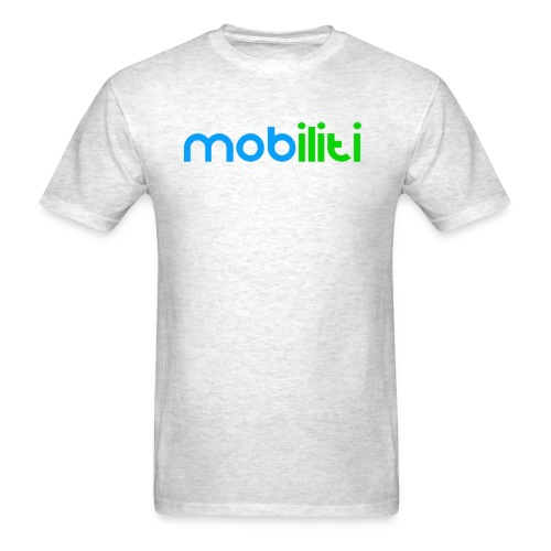Mobiliti Logo Mens Crew-neck - Men's T-Shirt