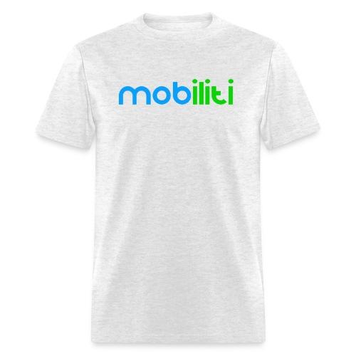 Mobiliti Logo Mens Crew-neck - Men's T-Shirt