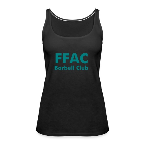 FFAC Barbell Club #2 womens - Women's Premium Tank Top