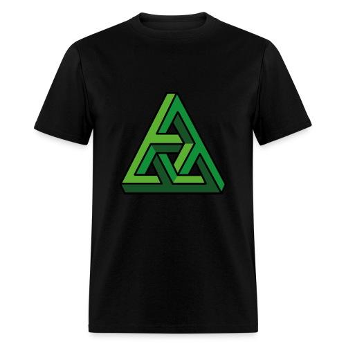 3-D Illusion  - Men's T-Shirt