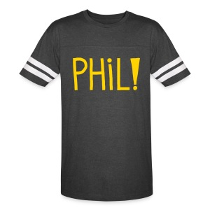 Phil! Stripes T-Shirt - Vintage Sport T-Shirt