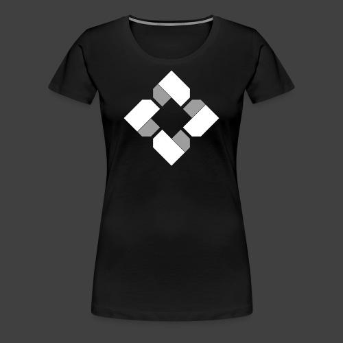 BTB White Logo Tee - Female - Women's Premium T-Shirt