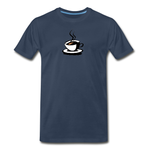 Ahhh... Coffee - Men's Premium T-Shirt