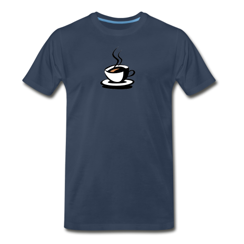 Ahhh... Coffee - Men's Premium T-Shirt