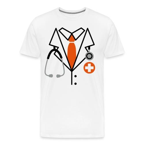 Male - Doctor - Men's Premium T-Shirt