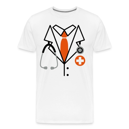 Male - Doctor - Men's Premium T-Shirt