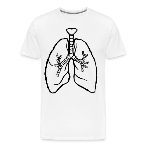 Male - Lungs - Men's Premium T-Shirt