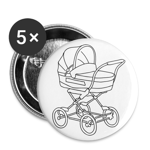 Baby stroller - Large Buttons