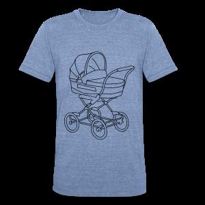 Baby stroller - Unisex Tri-Blend T-Shirt