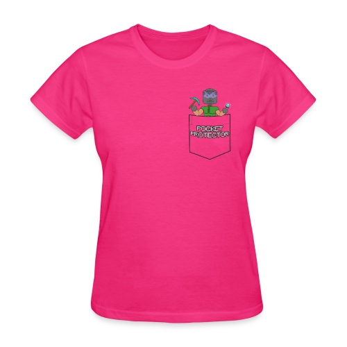 POCKET PROTECTOR (WOMENS) - Women's T-Shirt