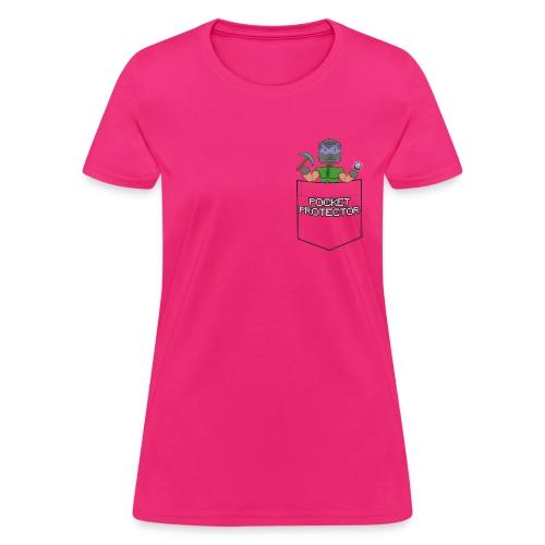 POCKET PROTECTOR (WOMENS) - Women's T-Shirt