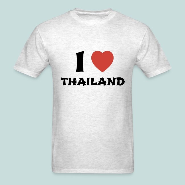 4e6d69edafc I Love Thailand - Men s T-Shirt
