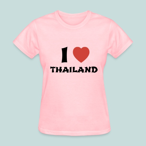 I Love Thailand - Women's T-Shirt - Women's T-Shirt