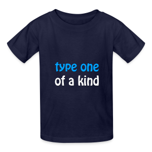 Type One of a Kind - Kids' T-Shirt