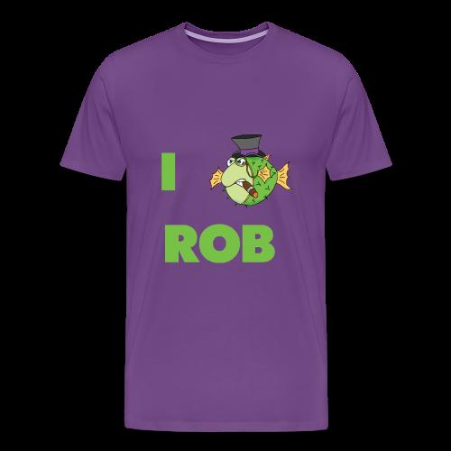 The Fugu Network I Fish Rob Design Premium T-Shirt - Men's Premium T-Shirt