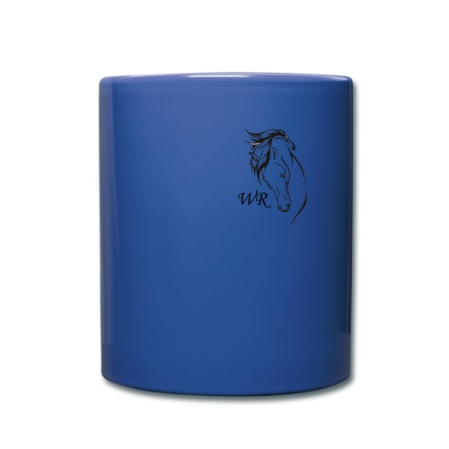Blue Coloured Mug - Full Color Mug