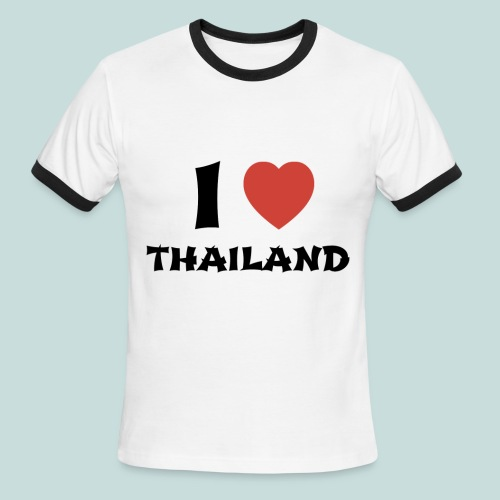 I Love Thailand - Men's Ringer T-Shirt - Men's Ringer T-Shirt