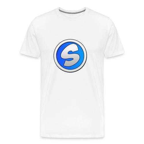 t-shirt noir sylaa - Men's Premium T-Shirt