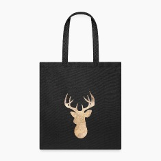 Modern deer head Bags & backpacks