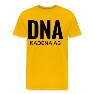 Airport Code - Kadena (Yellow) - Men's Premium T-Shirt