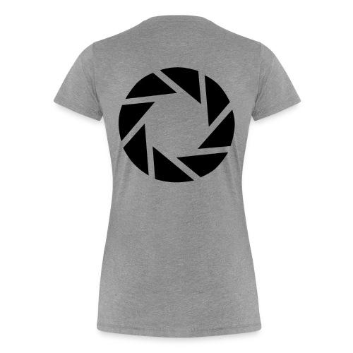 Women's Aperture Science Tee - Women's Premium T-Shirt