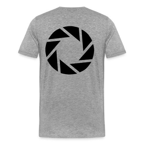 Men's Aperture Science Tee - Men's Premium T-Shirt