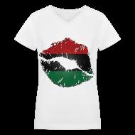 T-Shirts ~ Women's V-Neck T-Shirt ~ Article 104971222
