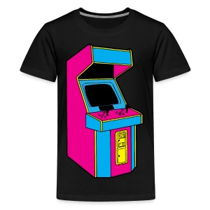 CMYK Stand up Arcade Game - Kids' Premium T-Shirt