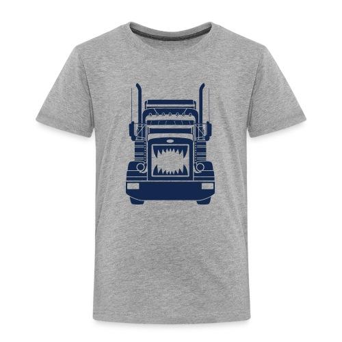 Trucker Teeth - Toddler Premium T-Shirt